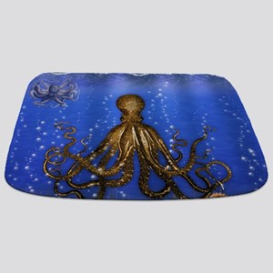 Octopus' Lair - colorful Bathmat