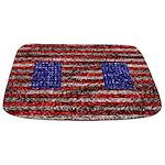 Van Gogh's Flag of the US Bathmat