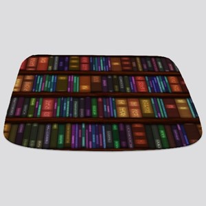 Old Bookshelves Bathmat