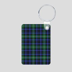 Tartan - Forbes Aluminum Photo Keychain