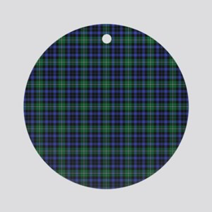 Tartan - Forbes Ornament (Round)