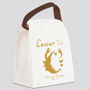 Cancer Canvas Lunch Bag