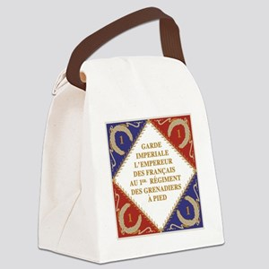 Flag of Napoleon's Guard Canvas Lunch Bag