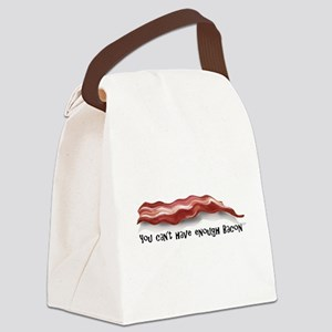 bacon gift copy Canvas Lunch Bag
