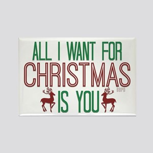 All I Want for Christmas Magnets