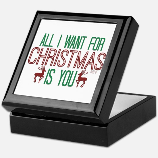 All I Want for Christmas Keepsake Box