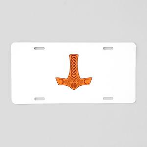 Mjölnir Aluminum License Plate