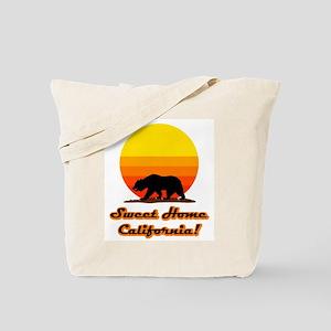 Sweet Home California Tote Bag