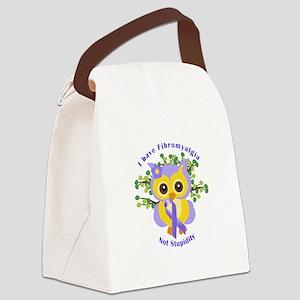 I have Fibromyalgia Canvas Lunch Bag