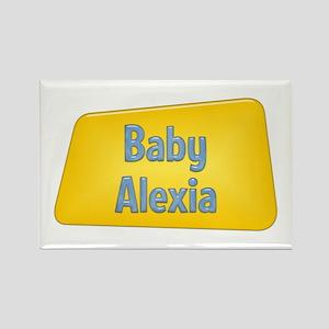 Baby Alexia Rectangle Magnet