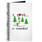 I Love X Country Journal