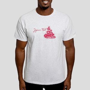 Joyeux Noël in Red T-Shirt