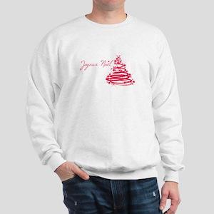 Joyeux Noël in Red Sweatshirt