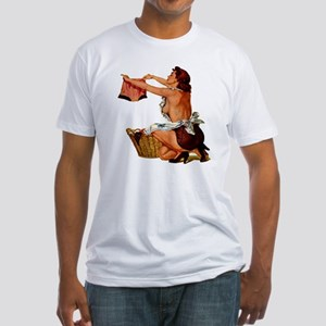 PinUp #4 Fitted T-Shirt