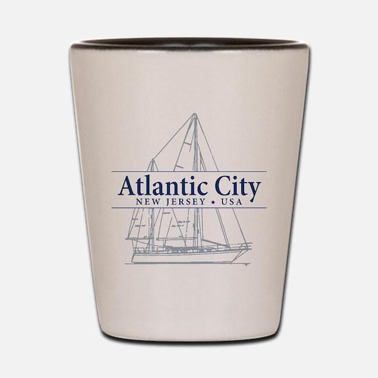 Atlantic City - Shot Glass