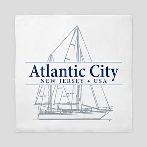 Atlantic City - Queen Duvet
