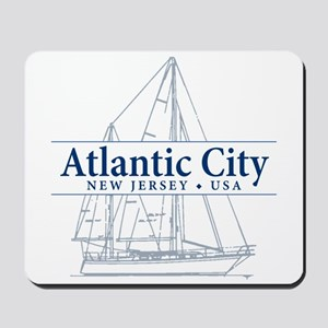 Atlantic City - Mousepad