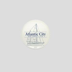 Atlantic City - Mini Button