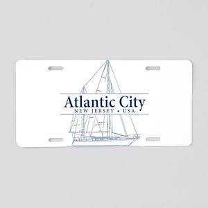 Atlantic City - Aluminum License Plate