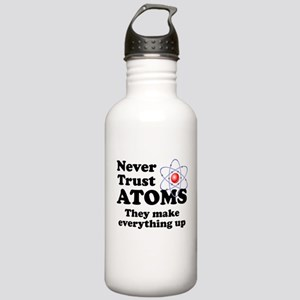 Never Trust Atoms Water Bottle