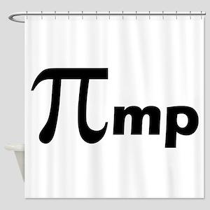 Math Pi Pimp Shower Curtain