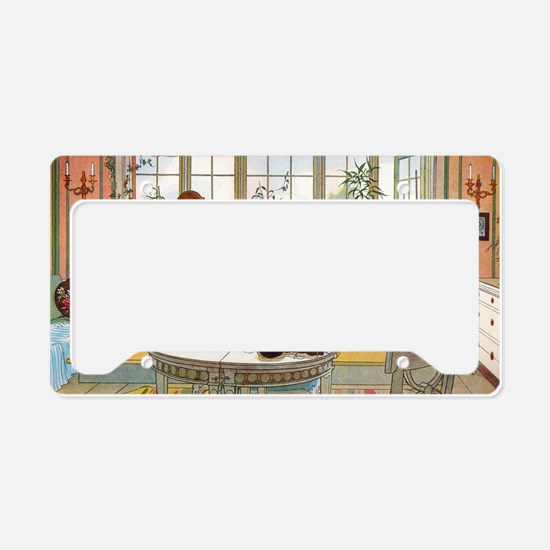 Flowers on the Windowsill by  License Plate Holder