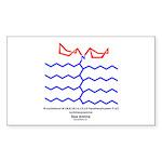 Sea Amine Rectangle Sticker