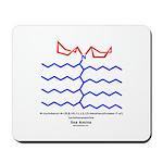 Sea Amine Mousepad