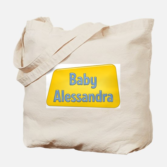 Baby Alessandra Tote Bag