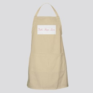 Faith.Hope.Love. Apron