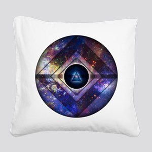Center of Existence Square Canvas Pillow