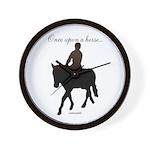 Horse Theme Item | Custom Wall Clock | #5557