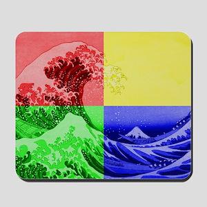The Great Wave off Kanagawa (??????) Mousepad