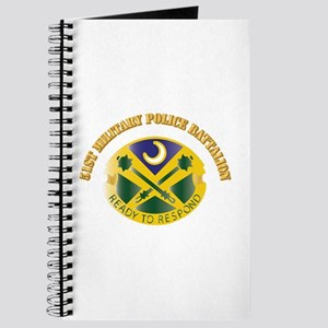 DUI - 51St Military Police Battalion With Text Jou