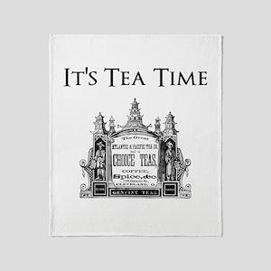 Tea Time Throw Blanket