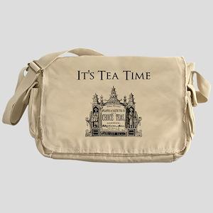 Tea Time Messenger Bag