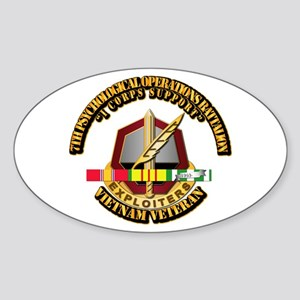 Army - 7th Psychological Operations Bn w SVC Ribbo