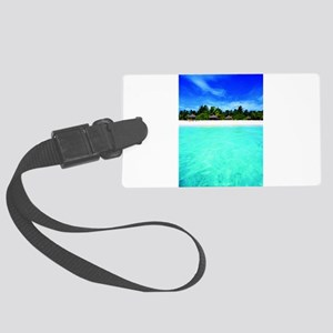 Island from the sea Luggage Tag