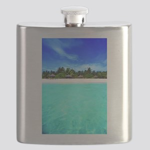 Island from the sea Flask