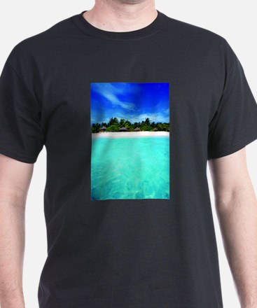 Island from the sea T-Shirt