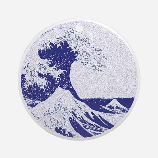 The Great Wave off Kanagawa (?????? Round Ornament