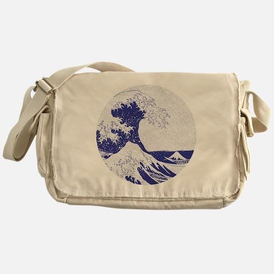 The Great Wave off Kanagawa (??????) Messenger Bag