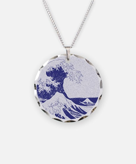 The Great Wave off Kanagawa  Necklace
