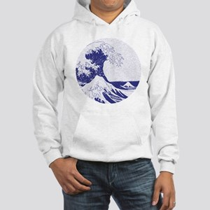 The Great Wave off Kanagawa (??? Hooded Sweatshirt