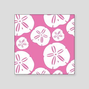 Sandollar Beach Summer Pink Sticker