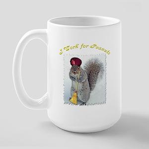 Grey Squirrel Large Mug