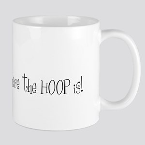 Home is where the hoop is Mugs