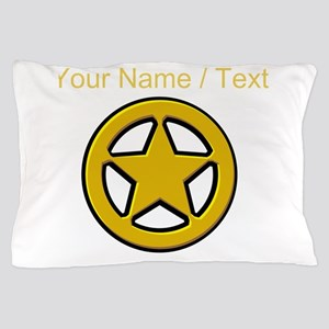 Sherriff Badge Pillow Case