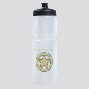 Sherriff Badge Sports Bottle