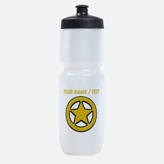 Sherriff Badge Sports Bottle
